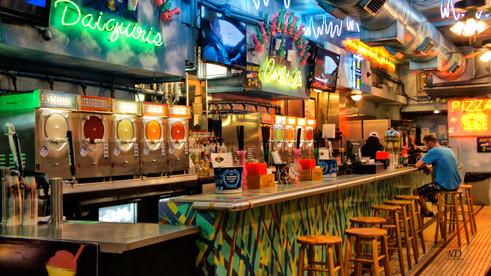 Daiquiri Bar on Bourbon Street