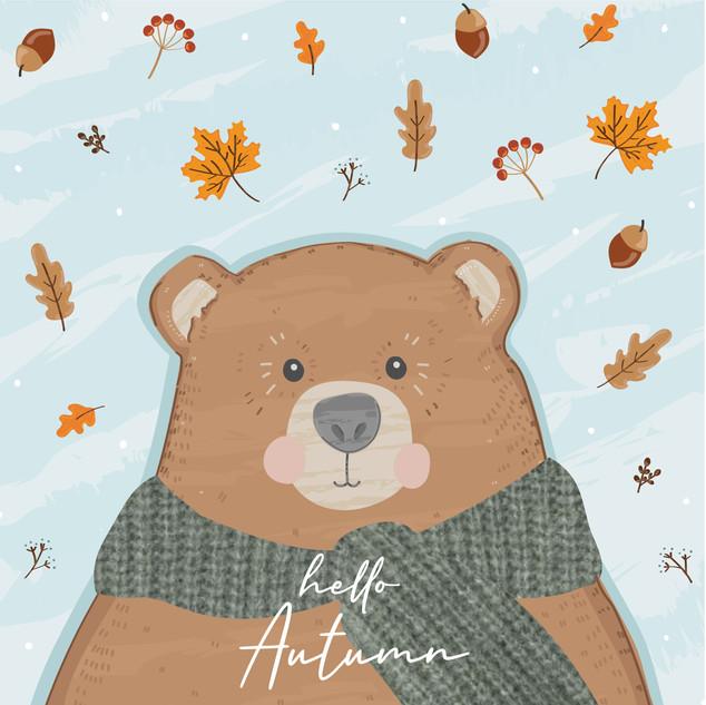 Autumn Bear x