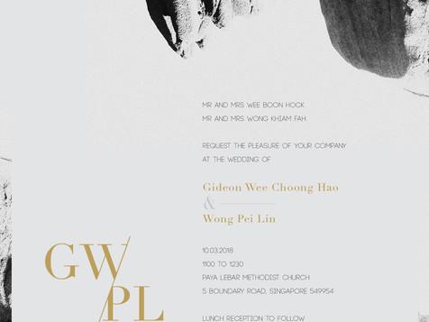 Wedding e-invite.