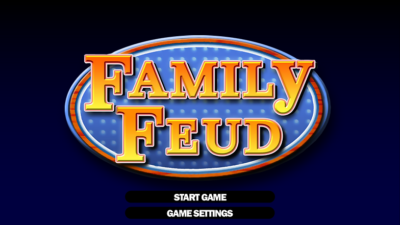 free family feud powerpoint game template | rusnak creative, Modern powerpoint