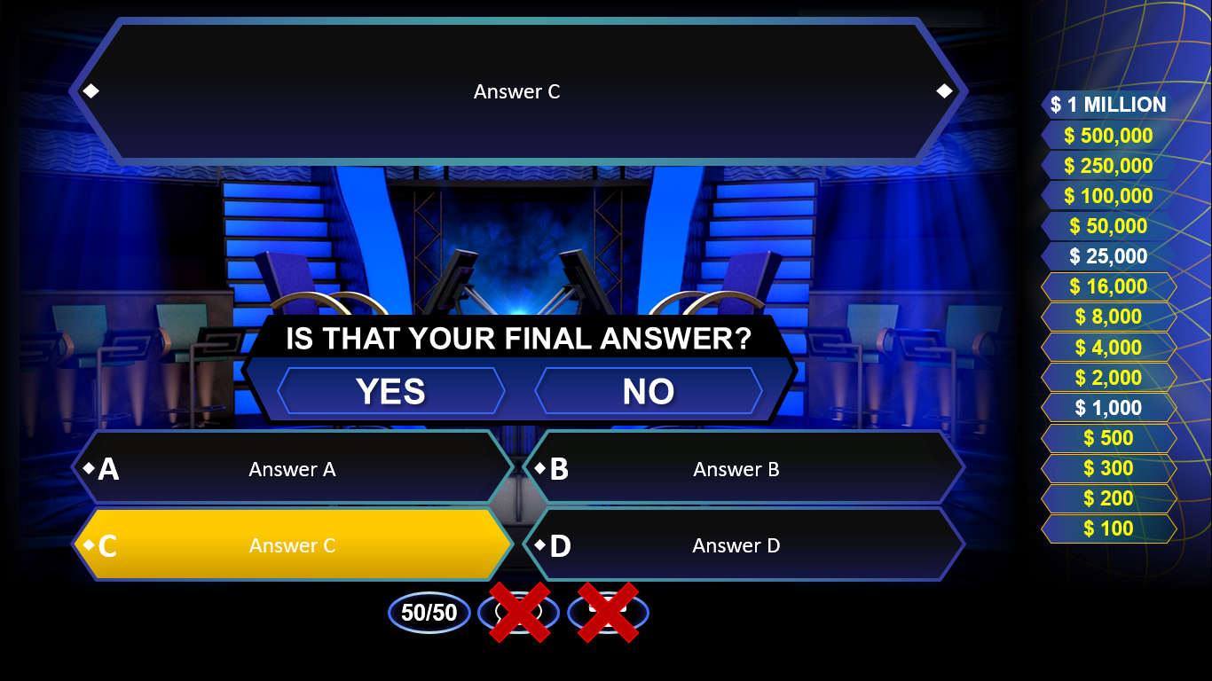 Who wants to be a millionaire free game