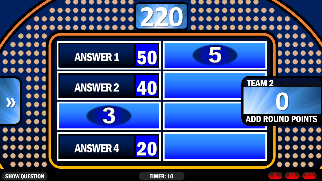 Family Feud | Rusnak Creative FREE PowerPoint Games