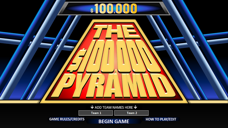Free 100000 Pyramid Powerpoint Game Template Rusnak Creative