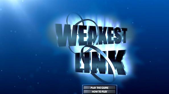 Weakest Link   Rusnak Creative FREE PowerPoint Games