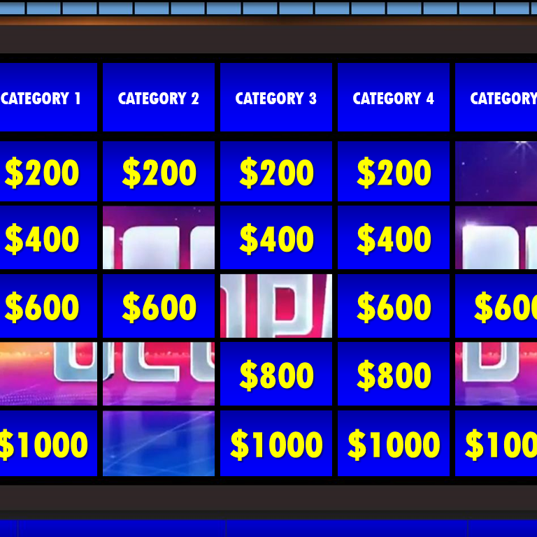 Free Jeopardy Powerpoint Game Template Rusnak Creative