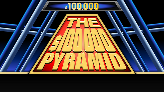 This macro-enabled version of Pyramid is specifically designed for two teams of two, just like the hit 2016 gameshow. Game play consists of one player gives clues to get their team mate to say each word in a group of seven words within 30 seconds. Controls are easy to use, and just as easy to edit each round slide. This template includes 2 rounds of 6 categories, plus 2 Winner's Circles. Some features include: real time scores, sound effects, customizable team names, ability to skip a word and come back to it, and more.