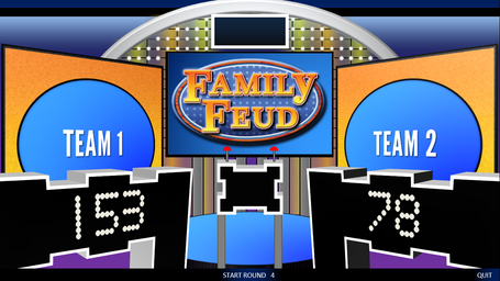FREE PowerPoint Customizable Games Templates – Family Feud Power Point Template