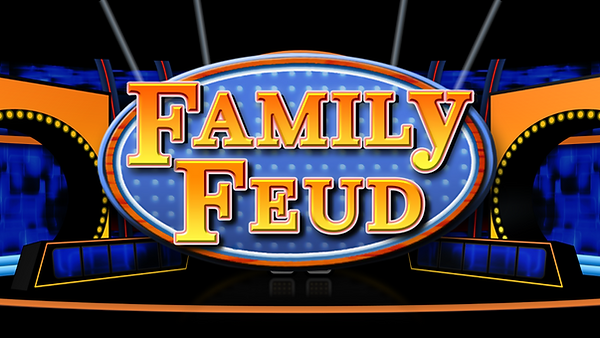 This macro-enabled version of Family Feud is designed for 2 teams with a Sudden Death round and as many rounds as you need. The host can input the team names at the beginning of the game while in the slideshow. This template also includes a Fast Money round at the end, where the host or PowerPoint operator can input each player's answer and add the point values. Fast Money round also then reveals them on the final scoreboard to see if they have reached the 200 points required to win. Features include: real time score for each team, sound effects, customizable timers, 3 strikes, easy to customize answers and questions.