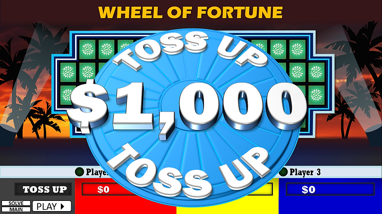free wheel of fortune powerpoint game template | rusnak creative, Powerpoint templates