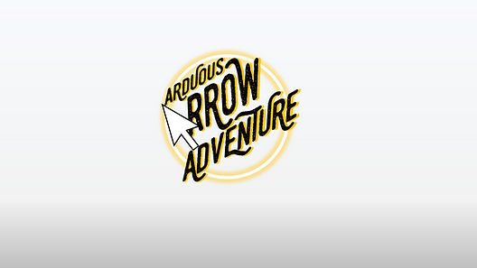 Ever thought you can play a platforming game in PowerPoint? Arduous Arrow Adventure lets you do just that, with your own Arrow cursor as the main player! Maneuver your mouse past obstacles while staying on the path and collecting as many coins as you can along the way. This game has 10 levels, and a bonus slide with instructions on how to make your own with my triple A game engine!