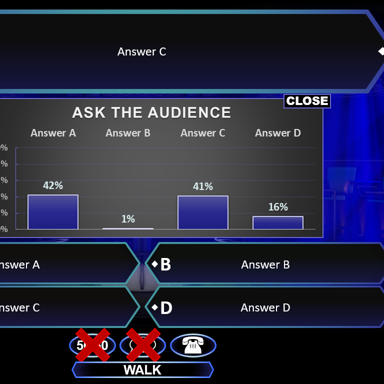 Powerpoint template who wants to be a millionaire choice for Who wants to be a millionaire powerpoint template with music
