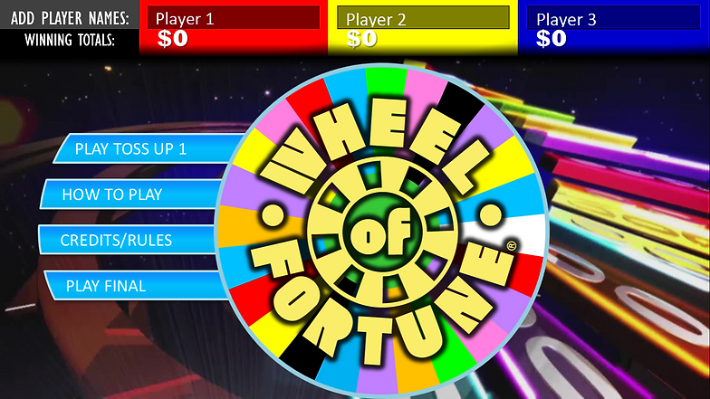 FREE Wheel of Fortune PowerPoint Game Template | Rusnak Creative