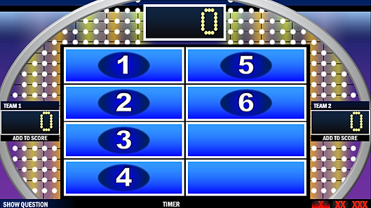 FREE Family Feud PowerPoint Game Template – Family Feud Power Point Template