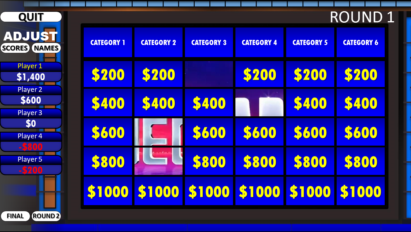 Jeopardy! | Rusnak Creative FREE PowerPoint Games