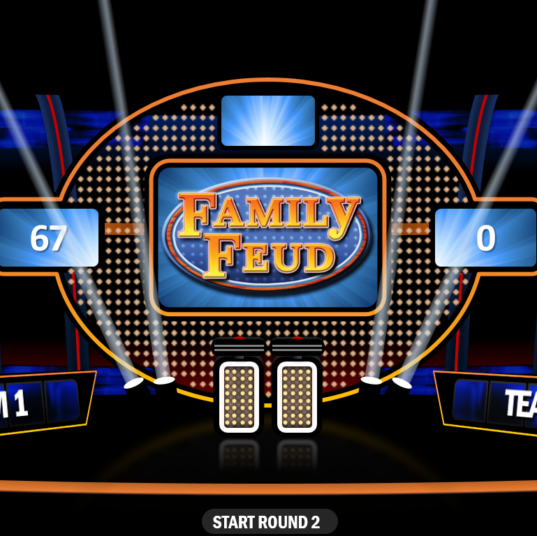 This Macro Enabled Version Of Family Feud Is Designed For 2 Teams With A  Sudden Death Round And As Many Rounds As You Need. The Host Can Input The  Team ...