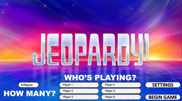 jeopardy! | rusnak creative free powerpoint games, Powerpoint templates