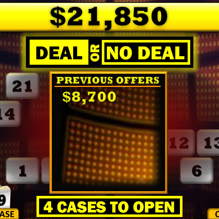 Free Deal Or No Deal Powerpoint Game Template Rusnak Creative