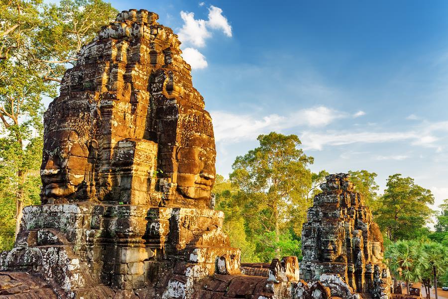 Temple of Bayon | Angkor wat tours | Ehabla Travel