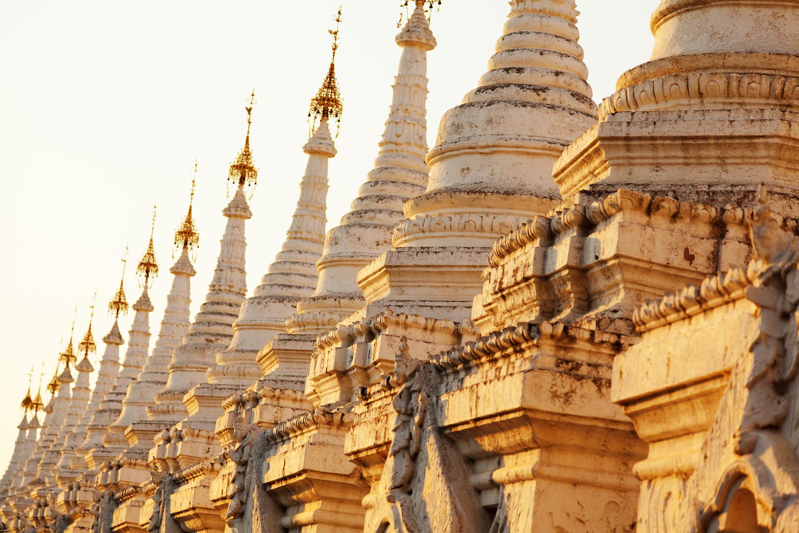 Kuthodaw Pagoda Myanmar Ehabla Trav