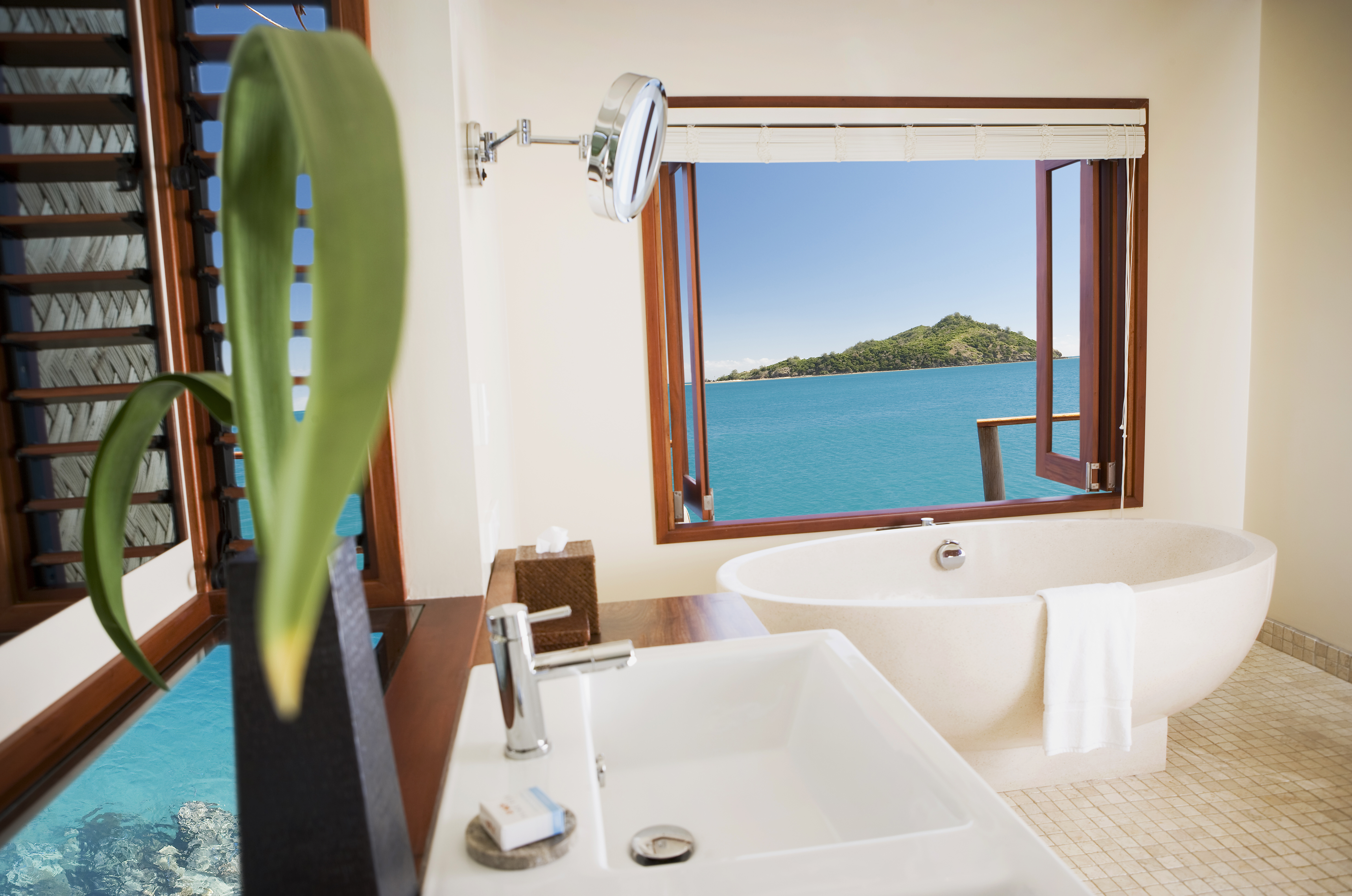 Likuliku Overwater Bathroom