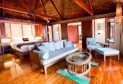 Likuliku Resort Overwater bedroom