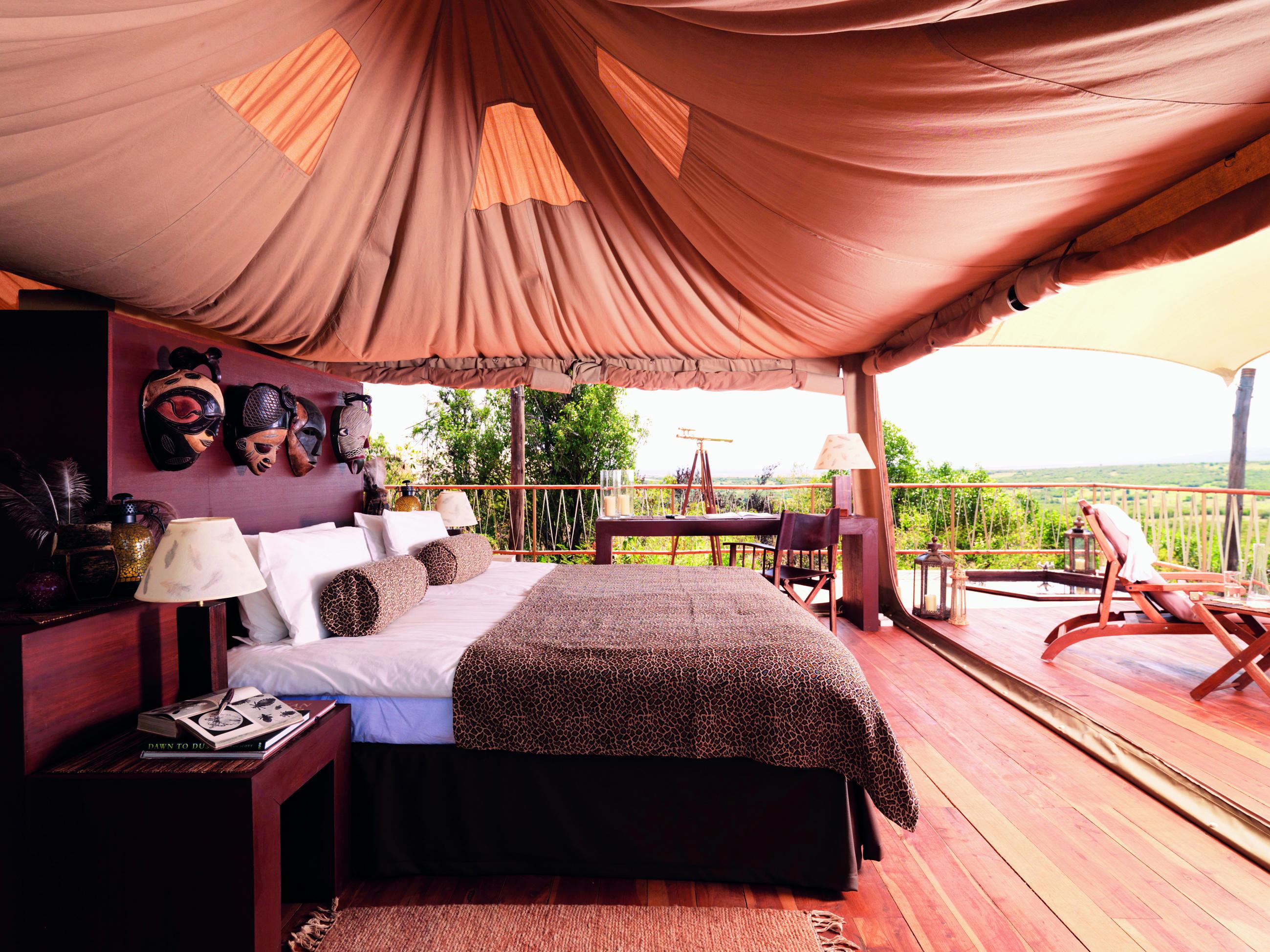 Mara Bushtops African Safari
