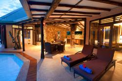 Savasi Island Villas Lounge Area