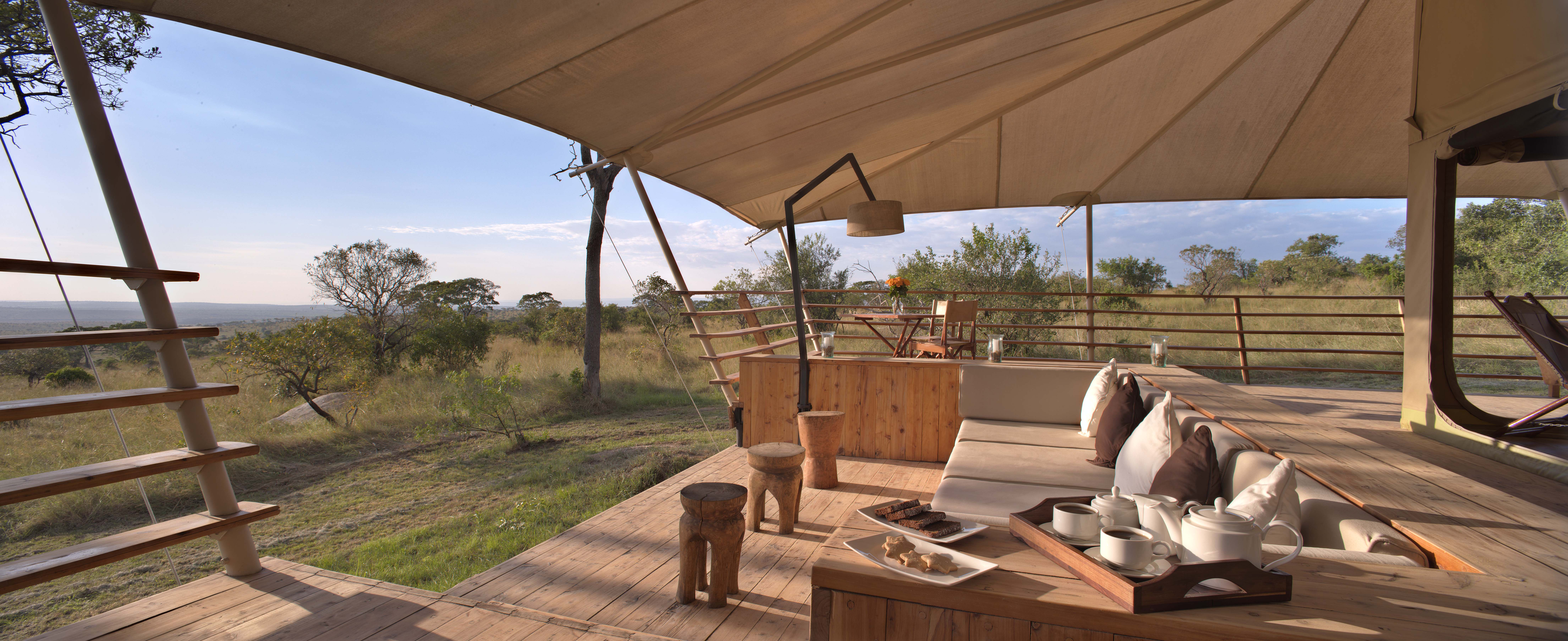 Serengeti Bushtops africa packages