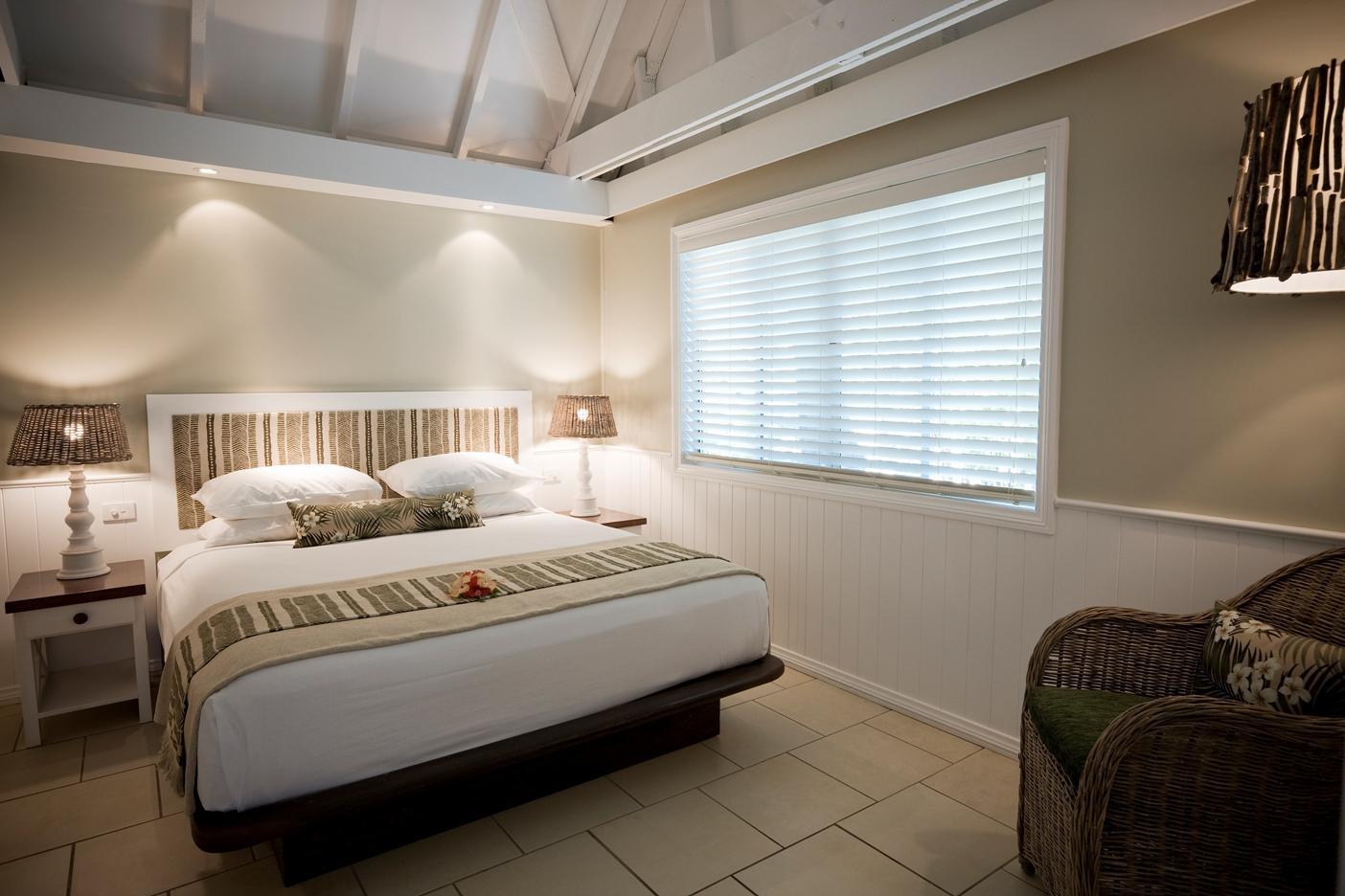Malolo Deluxe Oceanview Bedroom