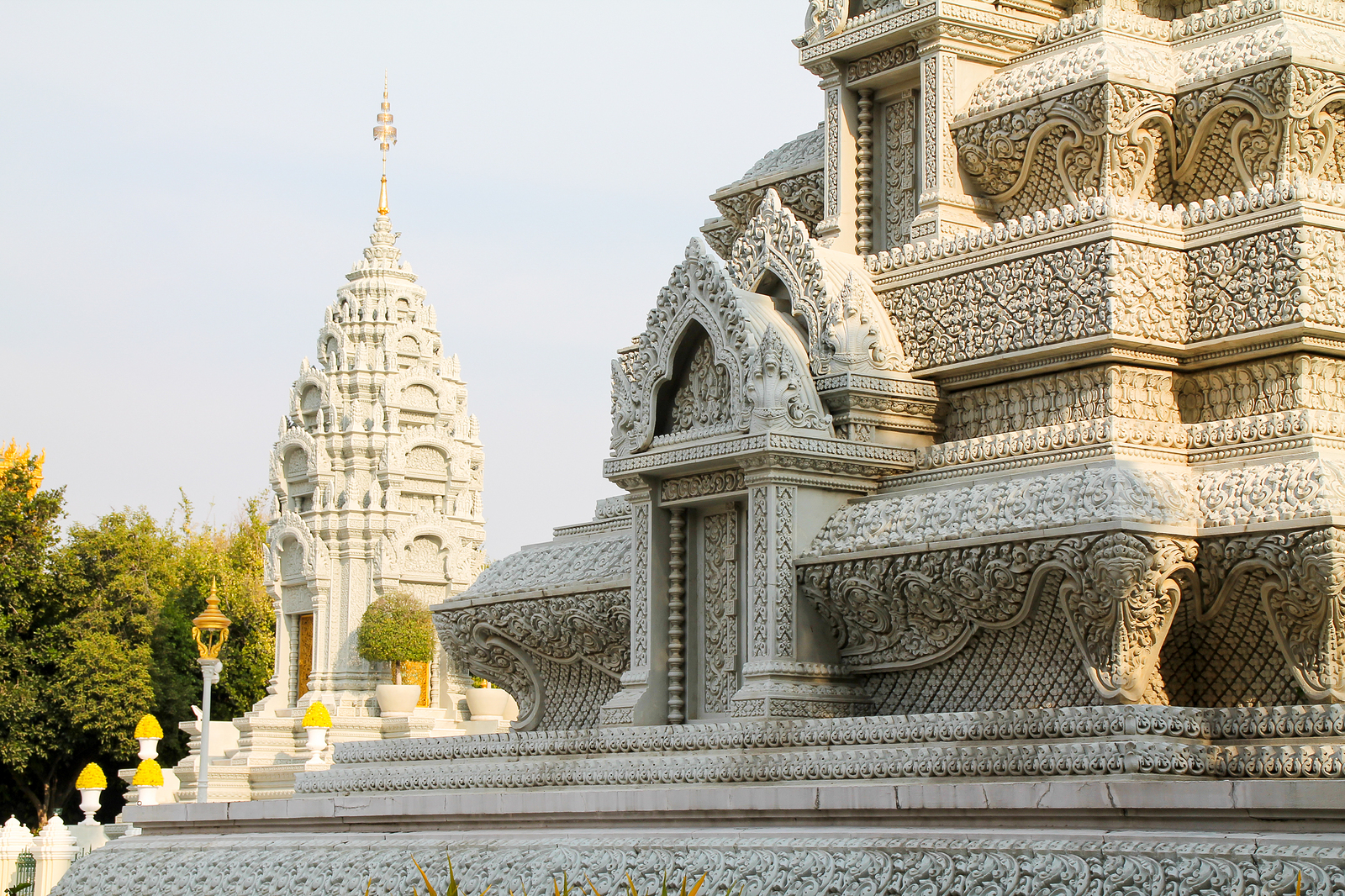 Royal Palace Temple Phnom Penh Asia