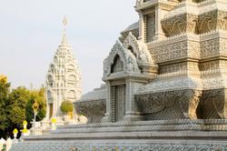 Royal Palace Temple Phnom Penh Asia
