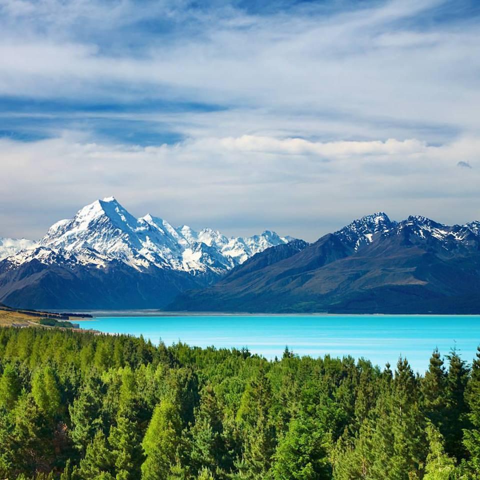 Lake Pukaki and Mount Cook, New Zealand