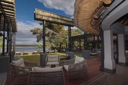 Chobe water villas exterior