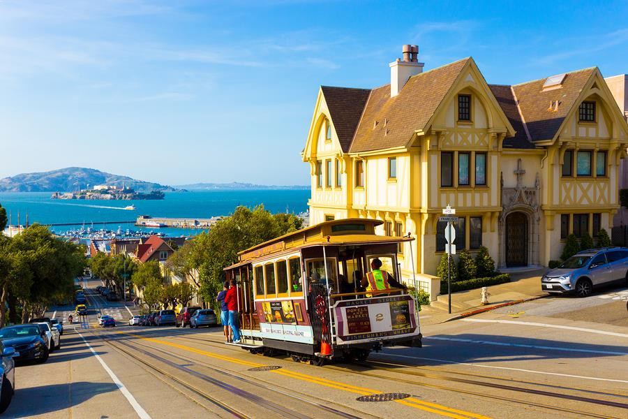 Most popular tourist destinations in San Francisco | Cable cars