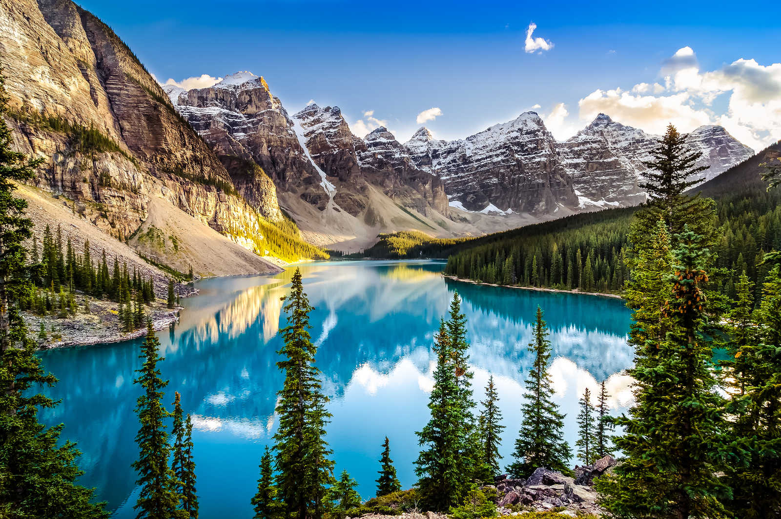 Moraine Lake Canada Ehabla Travel