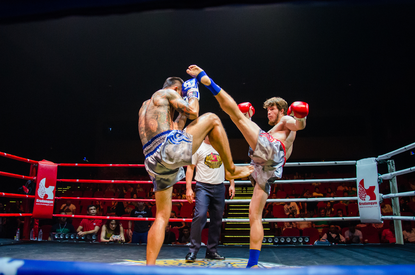 Muay Thai Fighters Bangkok Thailand