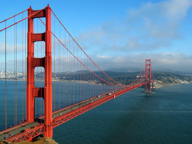 Most popular tourist destinations in San Francisco