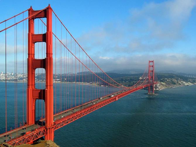 Most popular tourist destinations in San Francisco