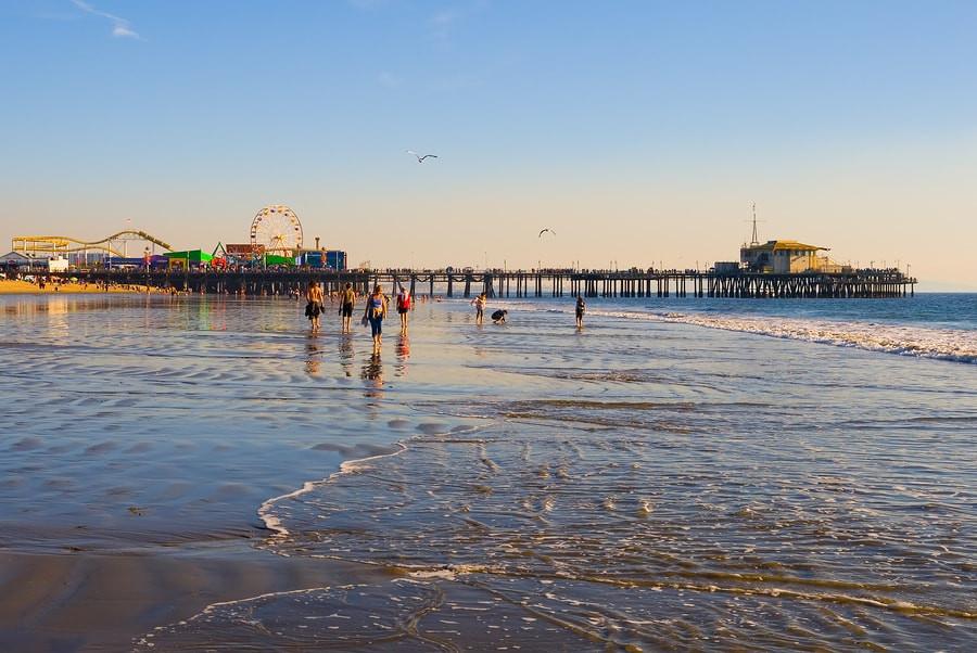 Santa Monica Beach Los Angeles Tours
