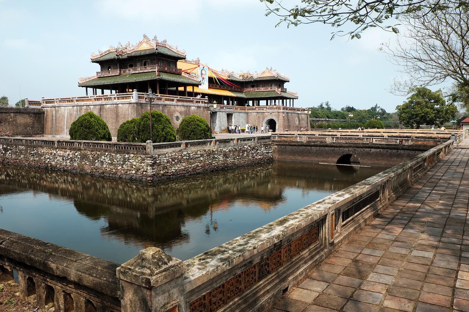 Hue Citadel Dai Noi Vietnam Ngo Mon