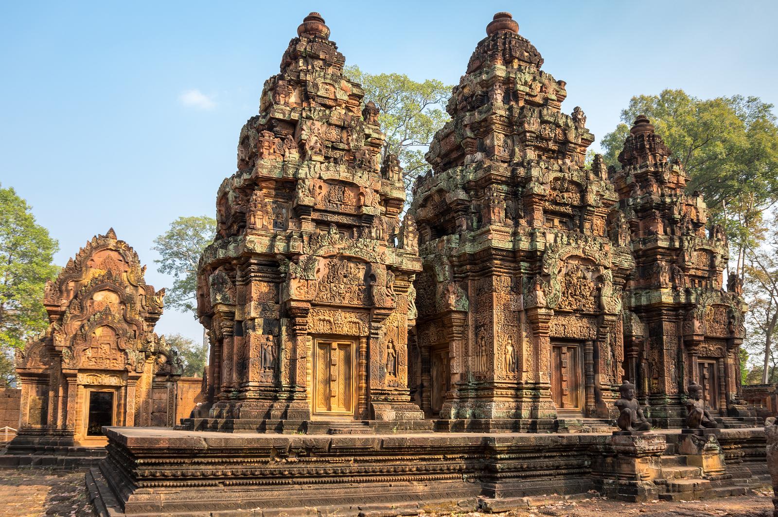 Banteay Srei Shiva Angkor Cambodia