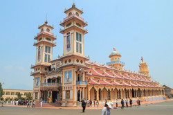 Ehabla Travel Cao Dai Temple Vietnam