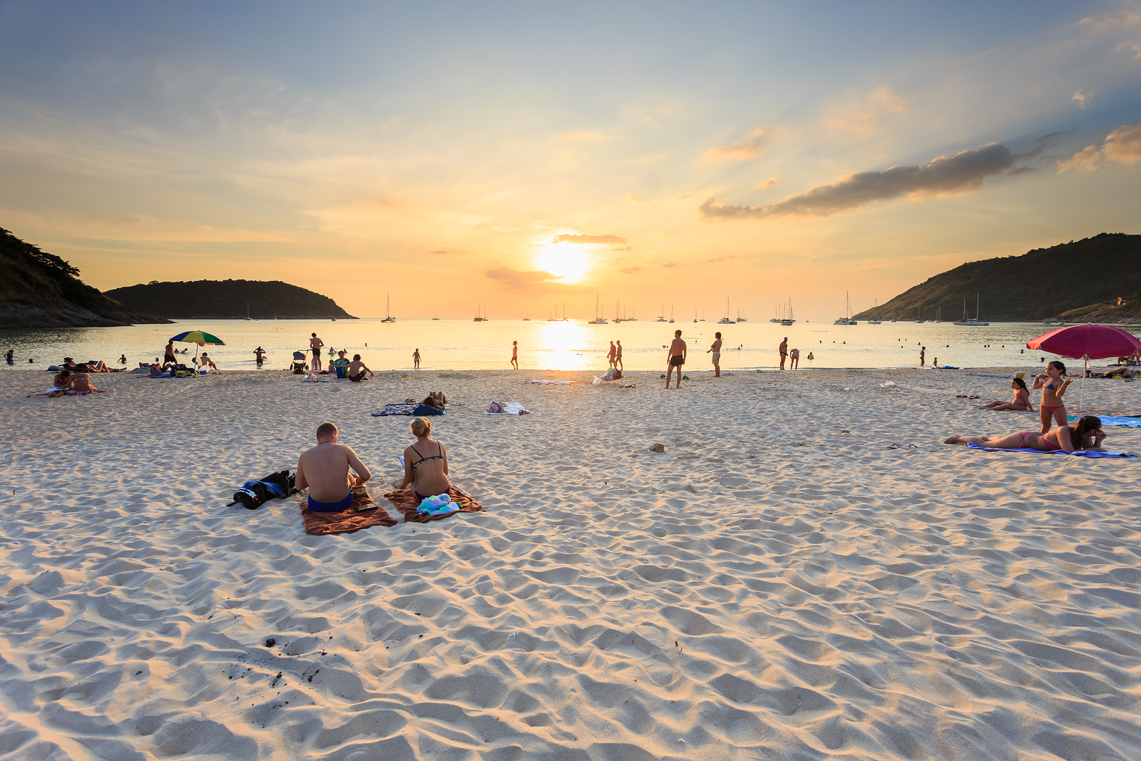 Nai Harn Beach. Phuket Thailand Asia