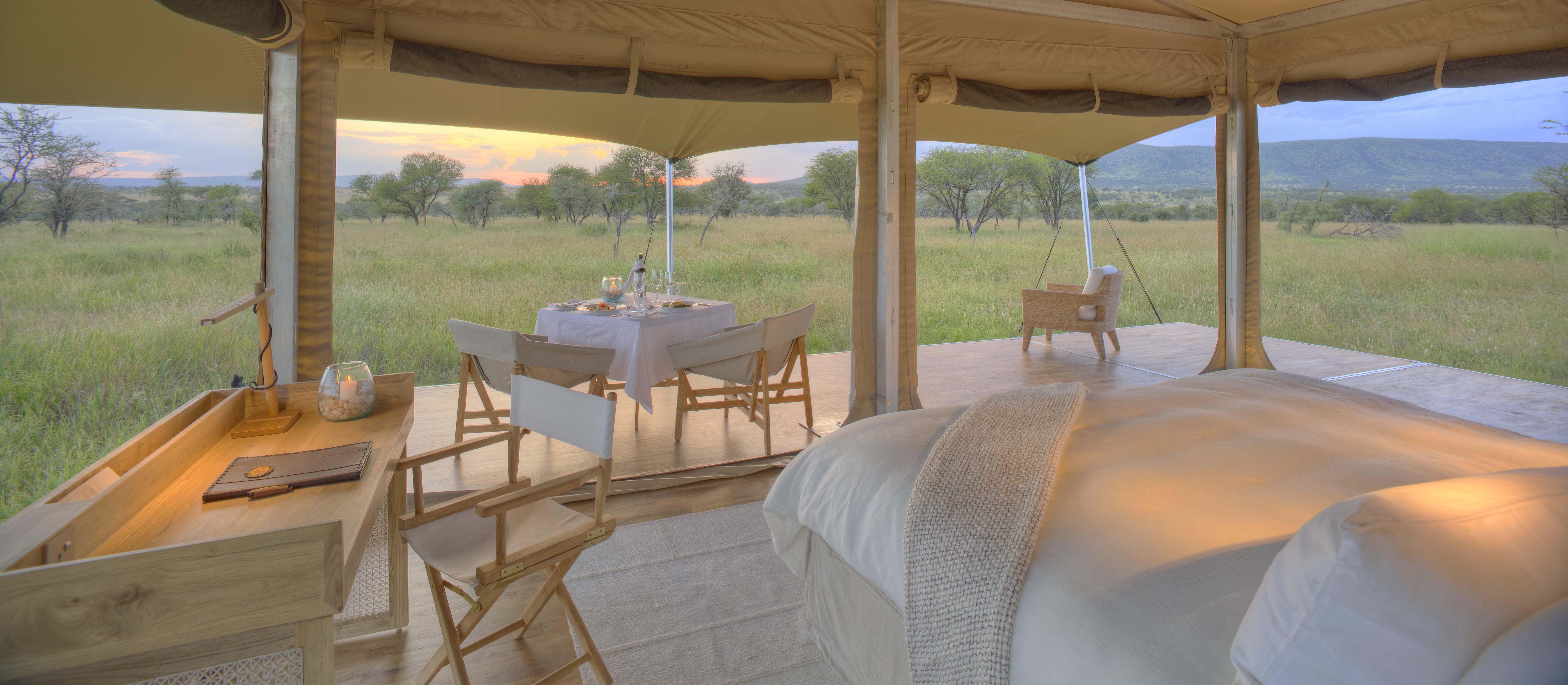 Roving Bushtop safari africa