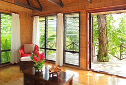 Matangi Treehouse living room