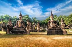 Wat Xieng Khuan Park Vientiane Laos