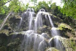 Tumalog waterfalls in Oslob
