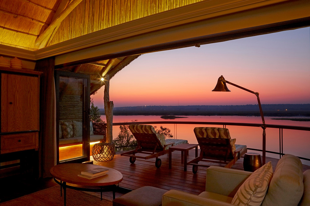 Chobe water villas african safari