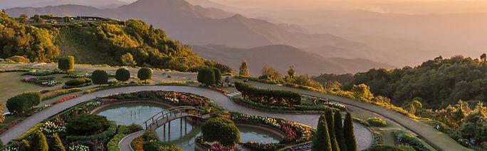 Ehabla Travel Sunset At Doi Inthan Thailand Asia
