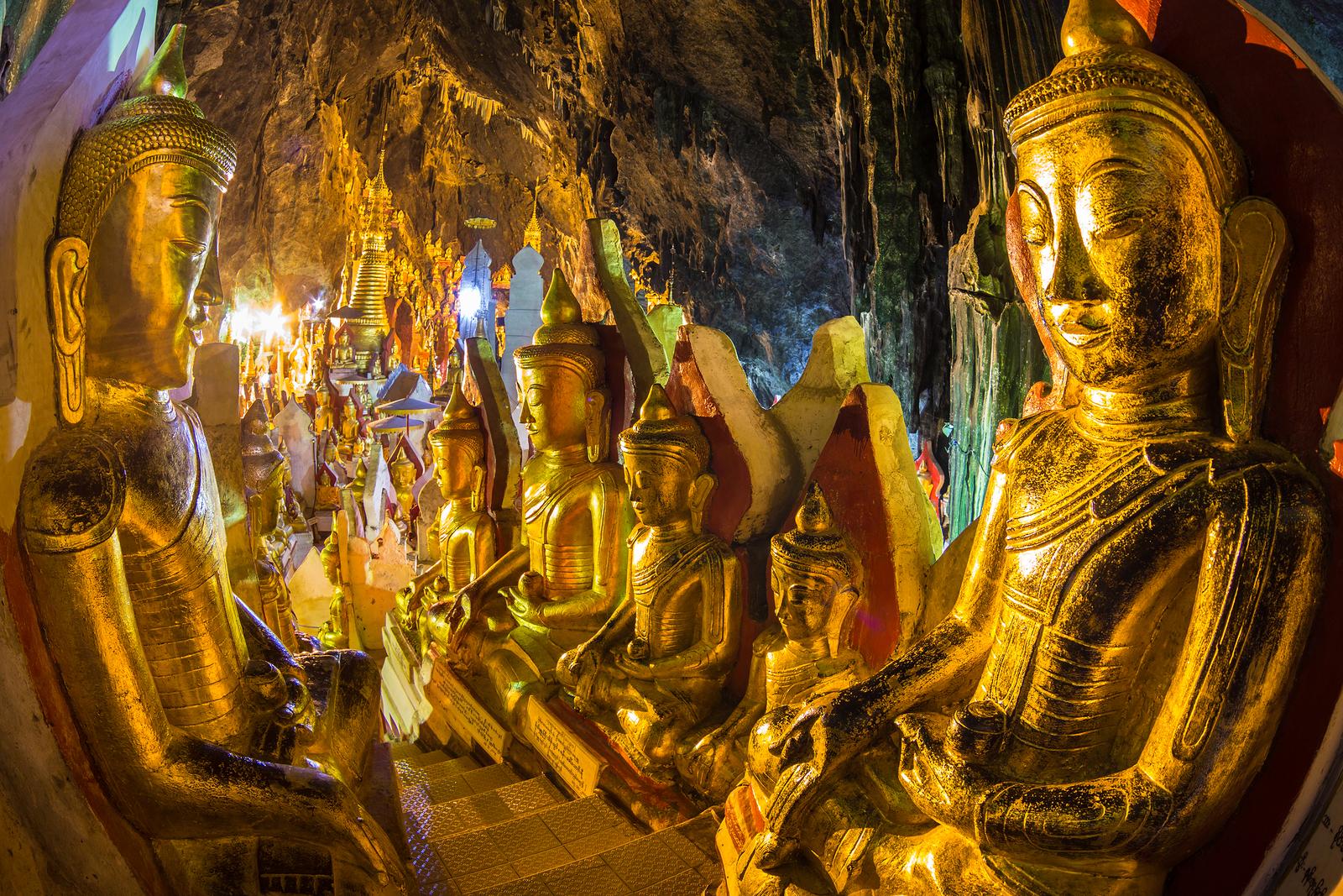 Pindaya cave Myanmar Ehabla Travel